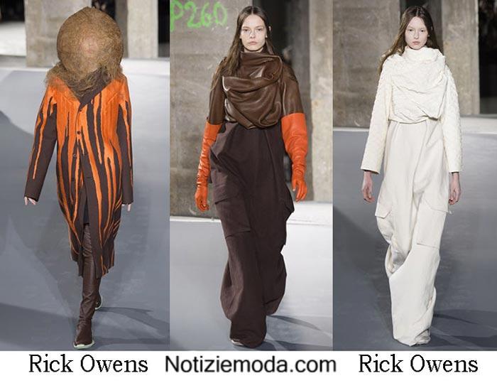 Style Rick Owens Autunno Inverno 2016 2017 Moda Donna