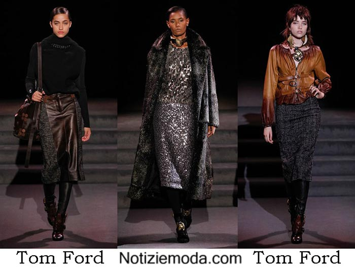 Style Tom Ford Autunno Inverno 2016 2017 Moda Donna