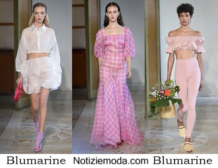 Blumarine Primavera Estate 2017 Sfilata Moda Donna