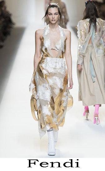 Fendi Primavera Estate 2017 Abbigliamento Donna Look 1