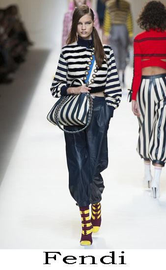 Fendi Primavera Estate 2017 Abbigliamento Donna Look 10