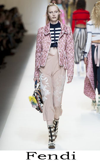 Fendi Primavera Estate 2017 Abbigliamento Donna Look 11