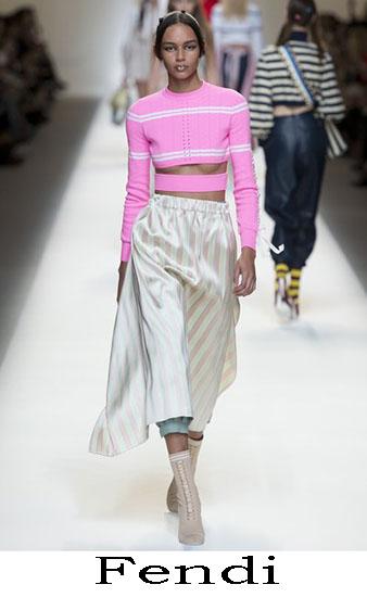 Fendi Primavera Estate 2017 Abbigliamento Donna Look 12