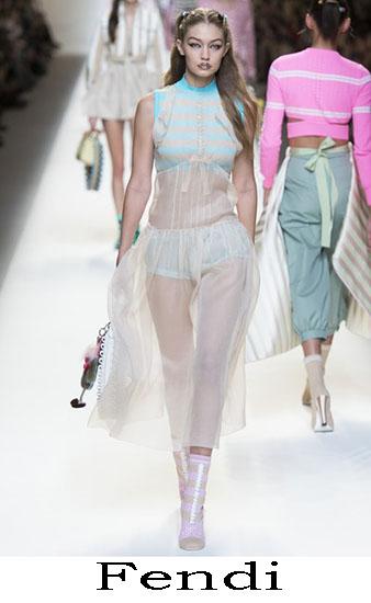 Fendi Primavera Estate 2017 Abbigliamento Donna Look 13