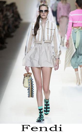 Fendi Primavera Estate 2017 Abbigliamento Donna Look 14