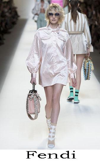 Fendi Primavera Estate 2017 Abbigliamento Donna Look 15