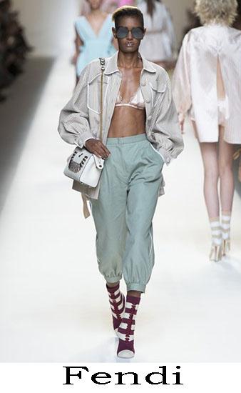 Fendi Primavera Estate 2017 Abbigliamento Donna Look 16