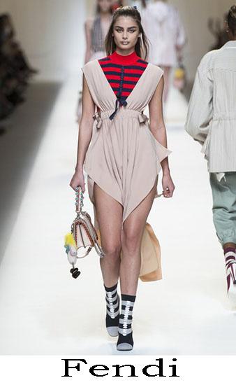 Fendi Primavera Estate 2017 Abbigliamento Donna Look 18