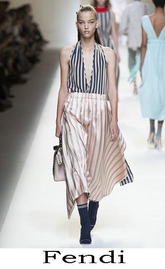 Fendi Primavera Estate 2017 Abbigliamento Donna Look 19
