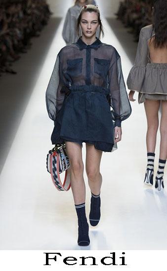 Fendi Primavera Estate 2017 Abbigliamento Donna Look 3