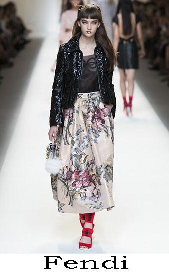 Fendi Primavera Estate 2017 Abbigliamento Donna Look 33