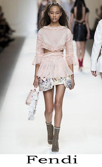 Fendi Primavera Estate 2017 Abbigliamento Donna Look 34
