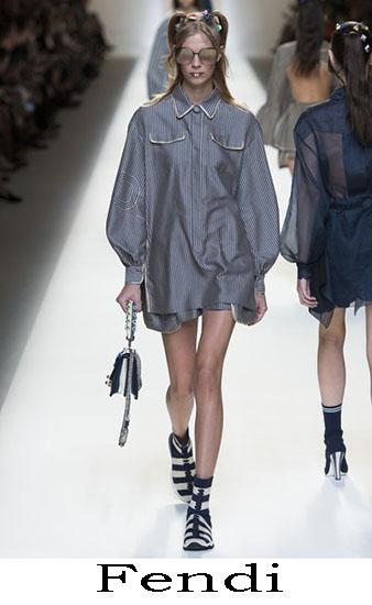 Fendi Primavera Estate 2017 Abbigliamento Donna Look 4