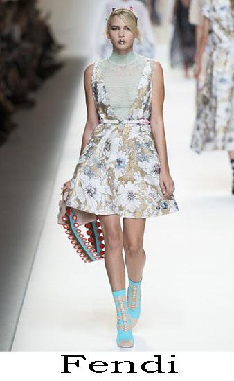 Fendi Primavera Estate 2017 Abbigliamento Donna Look 40