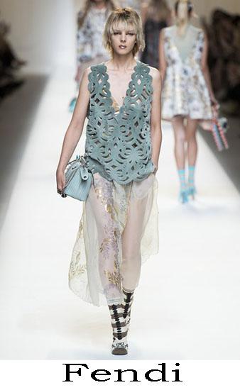 Fendi Primavera Estate 2017 Abbigliamento Donna Look 42