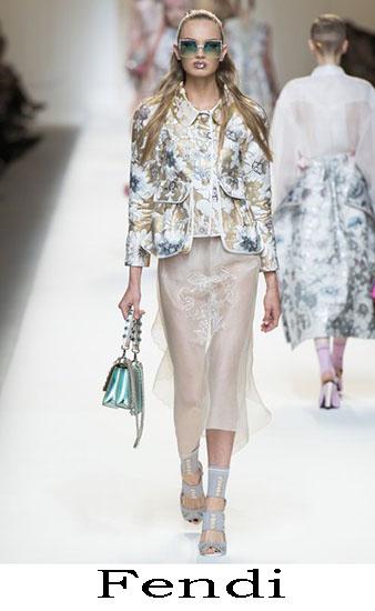 Fendi Primavera Estate 2017 Abbigliamento Donna Look 43