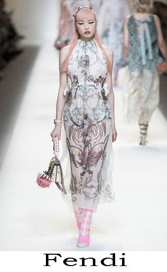 Fendi Primavera Estate 2017 Abbigliamento Donna Look 44