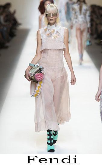 Fendi Primavera Estate 2017 Abbigliamento Donna Look 45