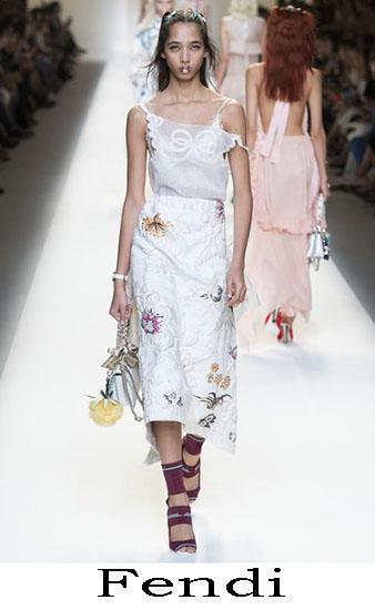 Fendi Primavera Estate 2017 Abbigliamento Donna Look 47