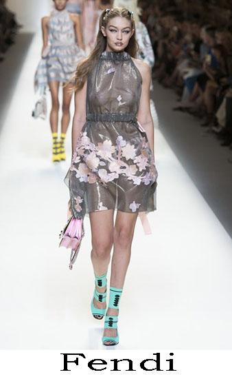 Fendi Primavera Estate 2017 Abbigliamento Donna Look 49