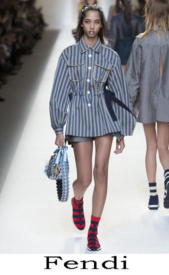 Fendi Primavera Estate 2017 Abbigliamento Donna Look 5