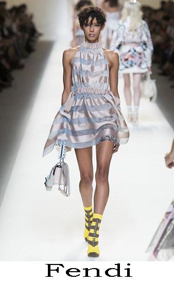 Fendi Primavera Estate 2017 Abbigliamento Donna Look 50