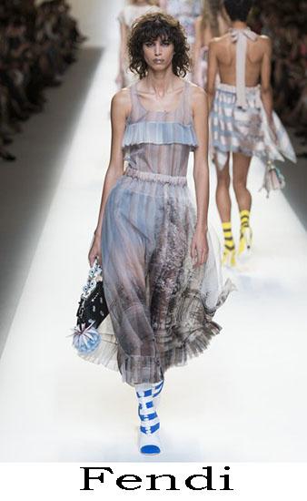 Fendi Primavera Estate 2017 Abbigliamento Donna Look 51