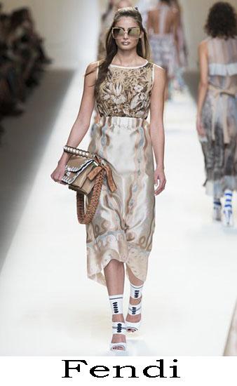 Fendi Primavera Estate 2017 Abbigliamento Donna Look 53