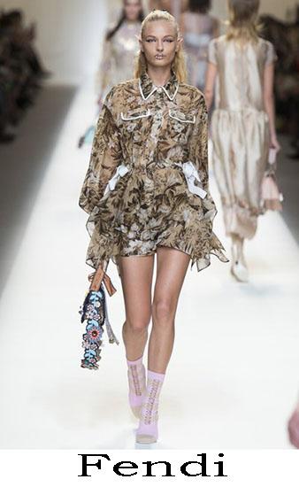 Fendi Primavera Estate 2017 Abbigliamento Donna Look 54
