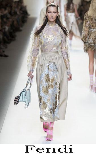 Fendi Primavera Estate 2017 Abbigliamento Donna Look 55