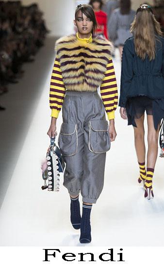 Fendi Primavera Estate 2017 Abbigliamento Donna Look 7