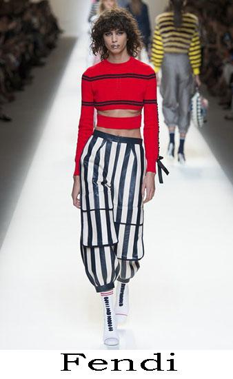 Fendi Primavera Estate 2017 Abbigliamento Donna Look 8