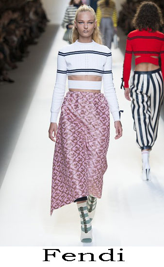 Fendi Primavera Estate 2017 Abbigliamento Donna Look 9