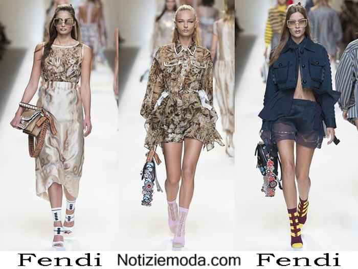 Favoloso Fendi primavera estate 2017 sfilata moda donna YC03