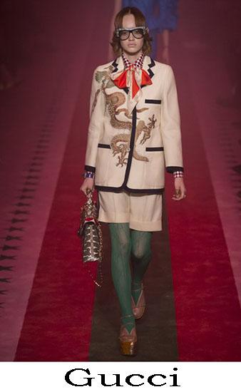 Gucci Primavera Estate 2017 Abbigliamento Moda Look 11