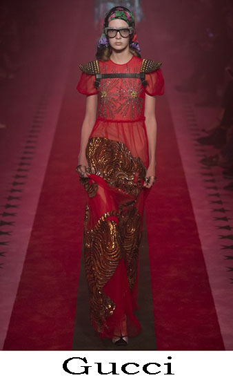 Gucci Primavera Estate 2017 Abbigliamento Moda Look 15