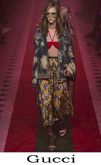 Gucci Primavera Estate 2017 Abbigliamento Moda Look 16