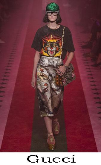 Gucci Primavera Estate 2017 Abbigliamento Moda Look 20