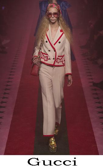 Gucci Primavera Estate 2017 Abbigliamento Moda Look 44
