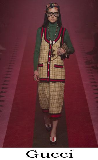 Gucci Primavera Estate 2017 Abbigliamento Moda Look 58