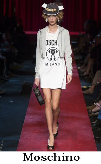 Moschino Primavera Estate 2017 Collezione Donna Look 23