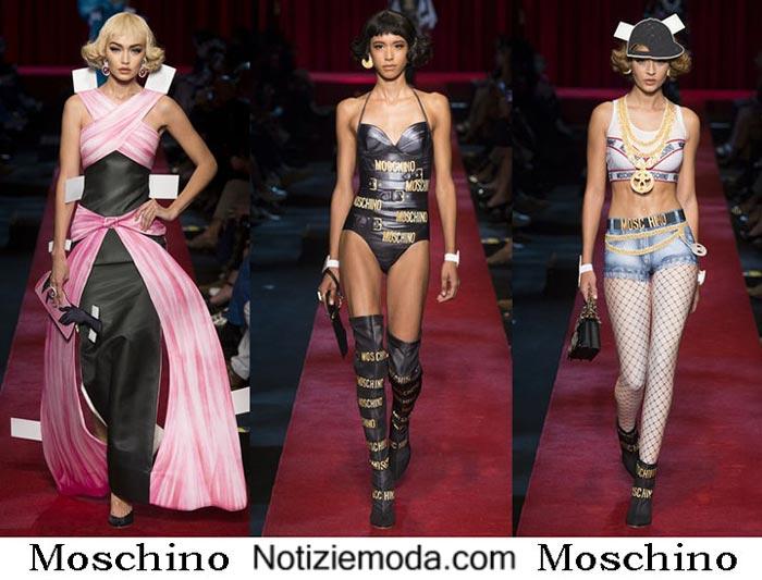 Moschino Primavera Estate 2017 Sfilata Moda Donna
