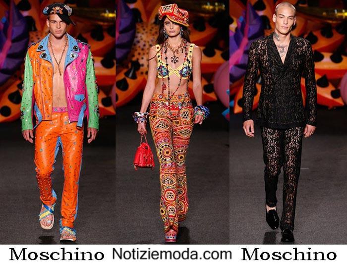 Moschino Primavera Estate 2017 Style Uomo Donna
