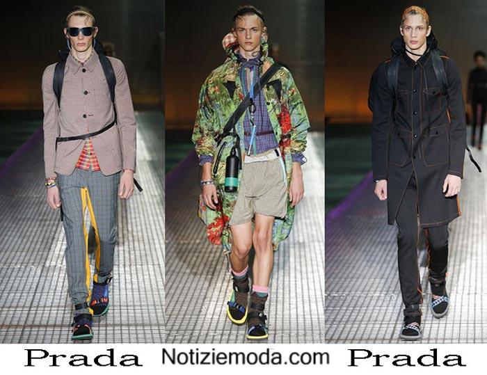 Prada Primavera Estate 2017 Abbigliamento Moda Uomo