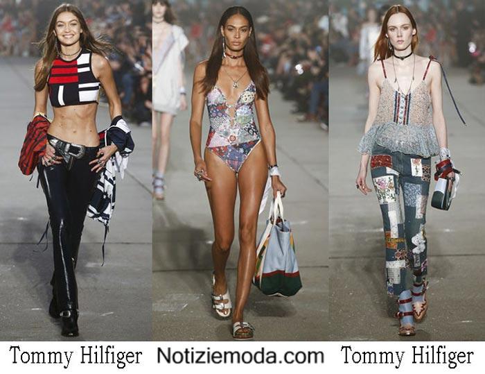 Tommy Hilfiger Primavera Estate 2017 Sfilata Moda Donna