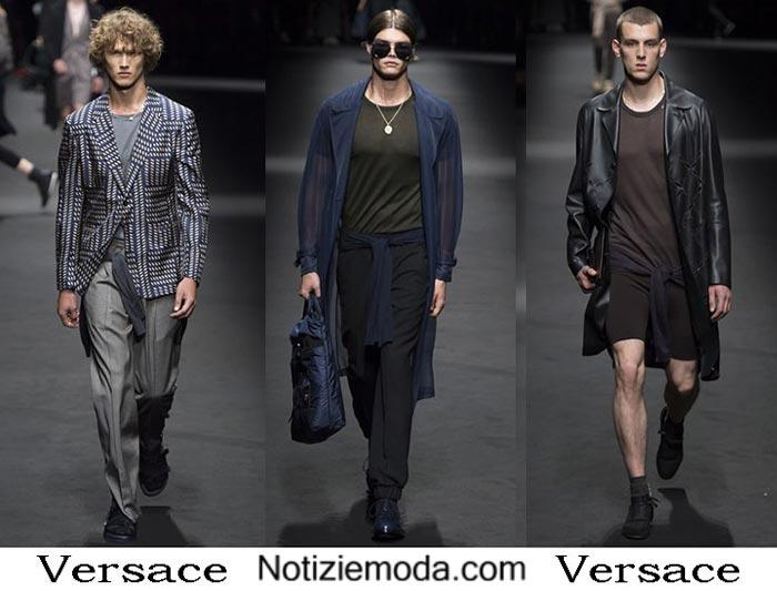 Versace Primavera Estate 2017 Abbigliamento Moda Uomo
