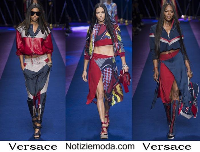 Versace Primavera Estate 2017 Sfilata Moda Donna