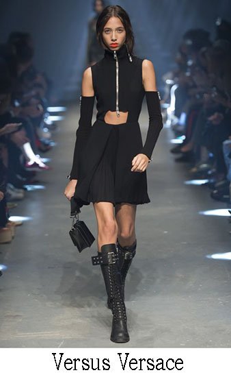 Versus Versace Primavera Estate 2017 Collezione Look 7