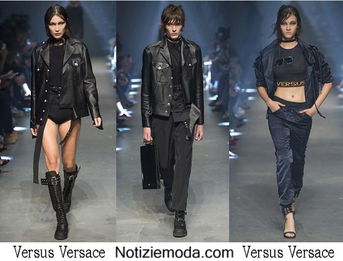 Versus Versace Primavera Estate 2017 Sfilata Donna Uomo