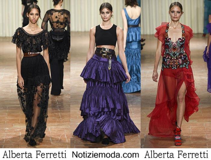 Alberta Ferretti Primavera Estate 2017 Collezione Moda Donna
